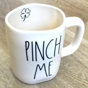 Rae Dunn PINCH ME Mug NWT